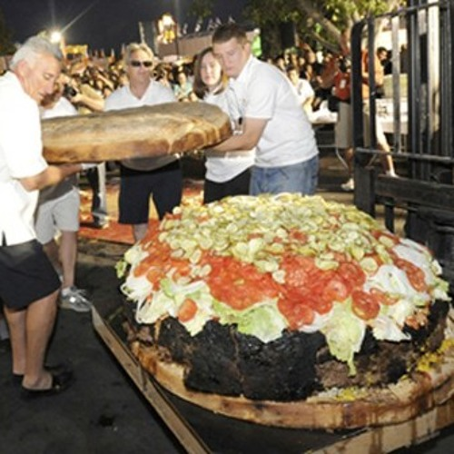 How Big Is The World's Biggest Burger? Click & find out...