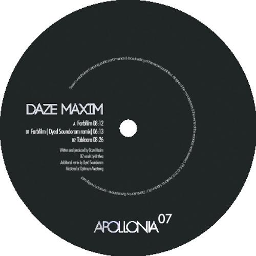 APO007 Daze Maxim Farbfilm (Dyed Soundorom remix) snippet