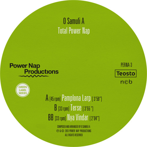 Terse (from Total Power Nap EP)