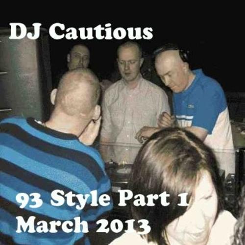 "Cautious - ""93 Style"" Part 1 - Old Skool Studio Mix"