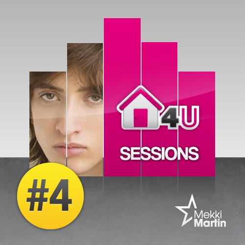 Mekki Martin - HOUSE4U SESSIONS #004 (WMC 2013 Pool Edition)