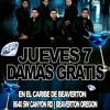 BRAZEROS MUSICAL DE DURANGO JUEVES 7 DE MARZO EN EL CARIBE Portada del disco