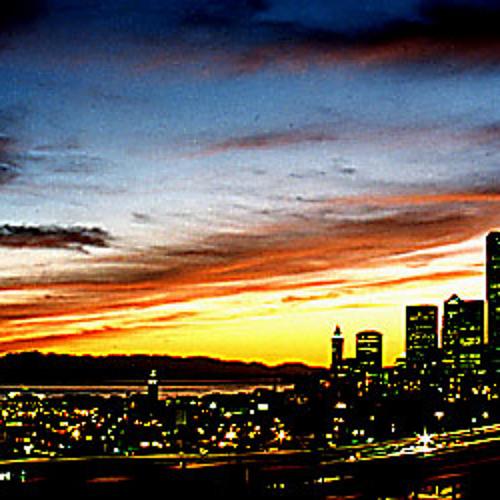 James Kasanga- Sunset In Seattle