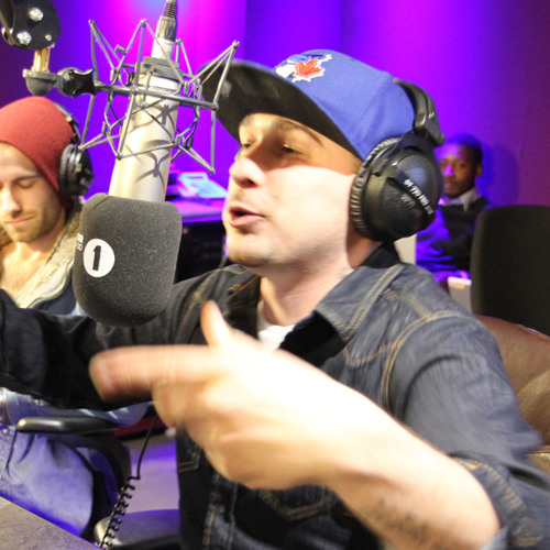 K Koke freestyle over Samename on the Radio 1 Review Show
