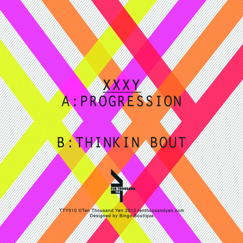 "xxxy - Progression / Thinkin Bout 12"" Preview - Out 15th April 2013"
