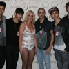Gold Forever - The Wanted - Britney Spears Concert - 6th November 2011