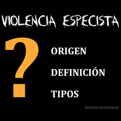 Violencia Especista | Jornadas Antiespecistas Barcelona 2013