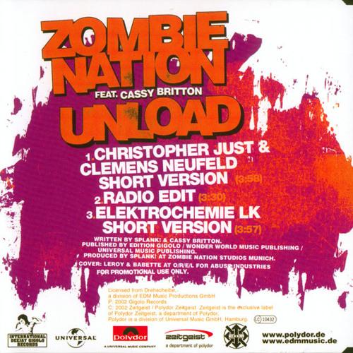 Zombie Nation feat. Cassy Britton - Unload (Elektrochemie LK Remix)