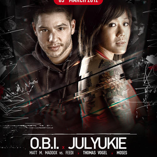 O.B.I. & JULYUKIE @ ESCELATE 03.03.2012 ( Germany )