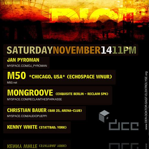 m50 @ Electrolyse, Dice Club 2009.11.14