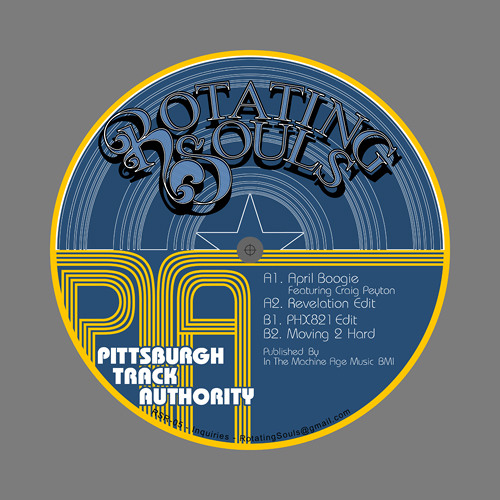 [RE-PRESSED!] Rotating Souls Records 5: Pittsburgh Track Authority