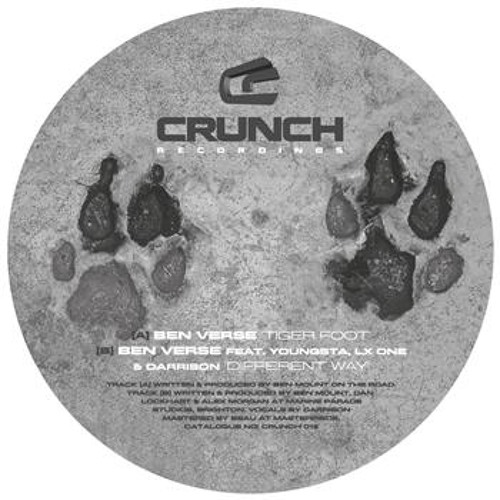 BEN VERSE, LX ONE & YOUNGSTA Feat DARRISON -  Different Way (Crunch Recordings)