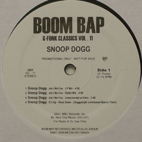 Snoop Dogg- Ain't No Fun (Test Of Time Edit)