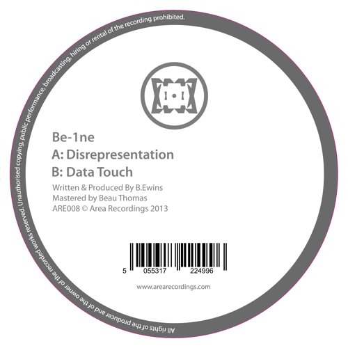 Be-1ne - Disrepresentation / Data Touch (ARE008) out now.
