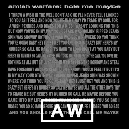 Hole Me Maybe (remix)
