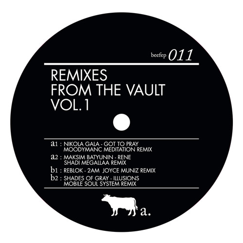 BEEFEP011 Remixes From The Vault vol1 (vinyl)