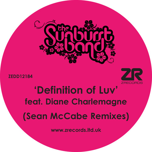 The Sunburst Band - Definition Of Luv (Sean McCabe Remixes)