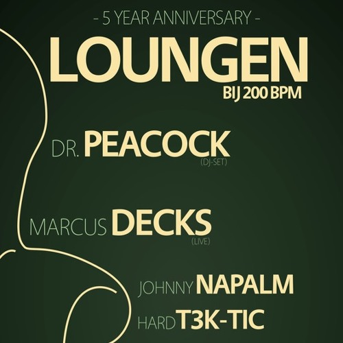 Dr. Peacock & Ohmboy - Loungen bij 200 BPM (5 Year Anniversary Anthem)