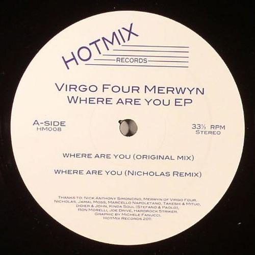 Merwyn Sanders (Virgo Four) - Where Are You (Nicholas remix)
