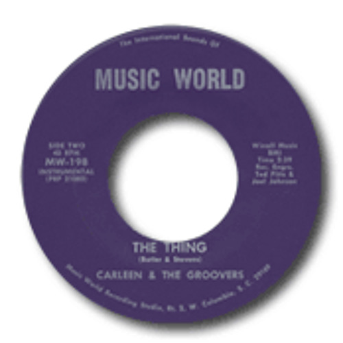 Free Wav DL - Carleen & The Groovers - The Thing (Dj Prime Extended BbOy Edit)