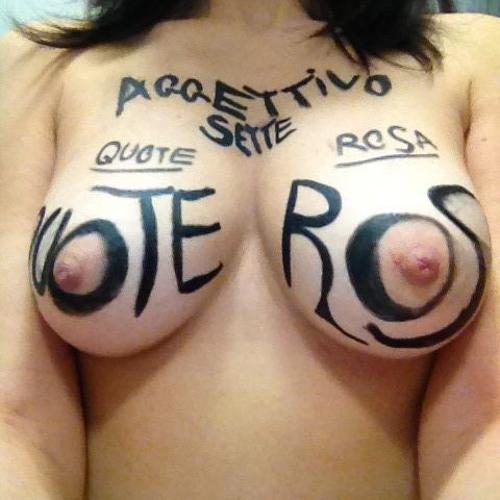 Aggettivo Sette - Quote Rosa