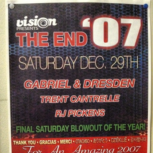 Gabriel & Dresden live at Vision Chicago, 29 December 2007