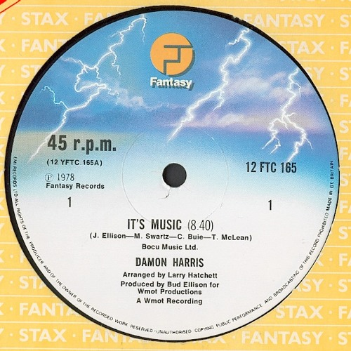 Damon Harris - It's Music (Slicer Garage Edit)***NEW MF LINK***