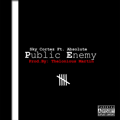 Sky Cortez ft. Absolute - Public Enemy (Prod. By Thelonious Martin)