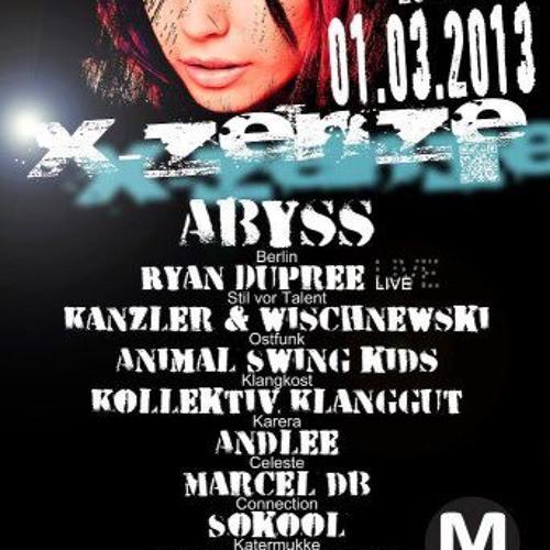 Abyss live @ Magdalena Berlin, 01.03.2013 X-Zenze