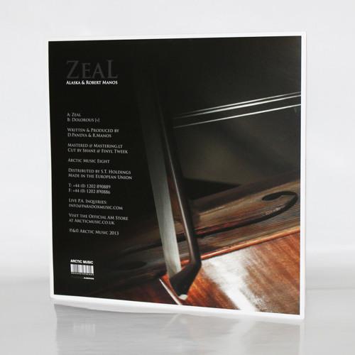"Alaska & Robert Manos - 'Dolorous [v]' - (Arctic Music 12"" 008)"
