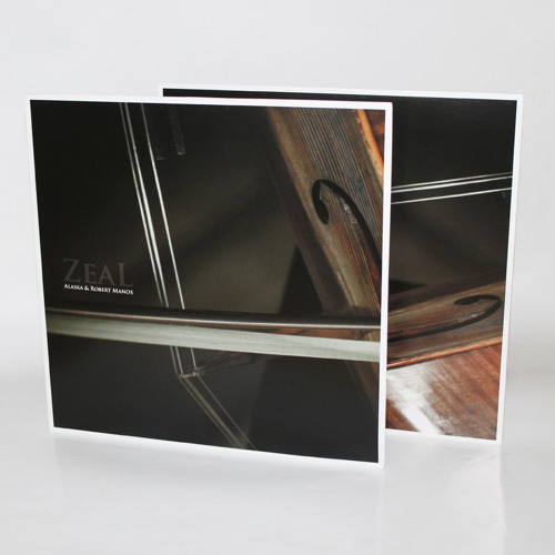 """Alaska & Robert Manos - 'Zeal' - (Arctic Music 12"""" 008)"""