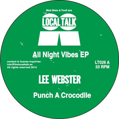 Lee Webster - Punch a Crocodile (LT026, Side A1)