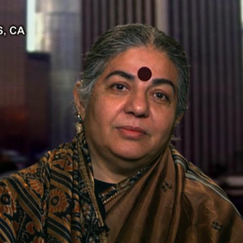 "Vandana Shiva on Int'l Women's Day: ""Capitalist Patriarchy Has Aggravated Violence Against Women"""