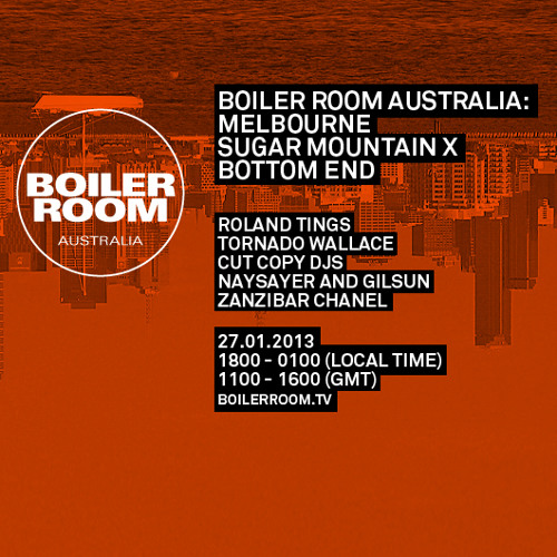 Zanzibar Chanel LIVE in the Boiler Room Australia