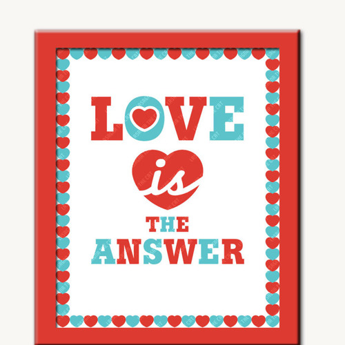 love is the answer V    (fav mixes - all DL for free)