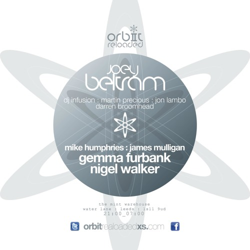 GEMMA FURBANK -  ORBIT-RELOADED - FEB 23RD 2013 -  LIVE RECORDING