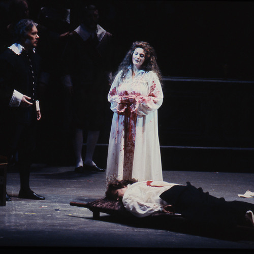 """Seattle Opera """"Countdown to the 50th!"""" 1992 Sally Wolf Lucia"""