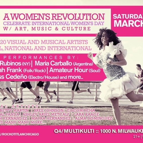 A Women's Revolution: A Celebration with art, music and culture