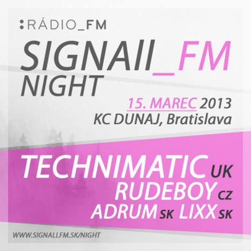 SIGNAll_FM NIGHT (15.03.2013) - Feature