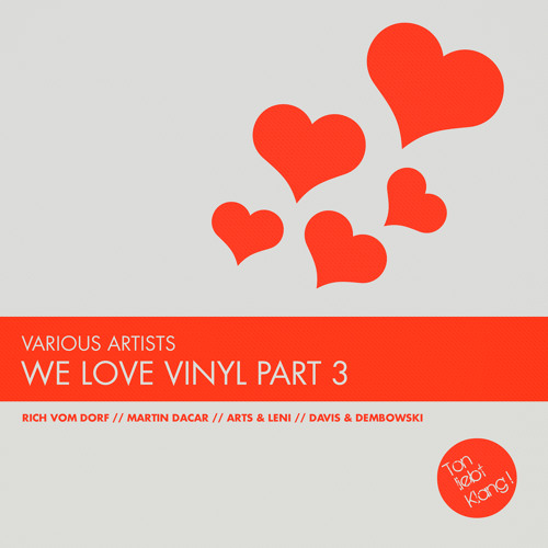 TLK018ltd Various Artists - We love Vinyl Part 3 !!! OUT NOW ON BEATPORT !!!