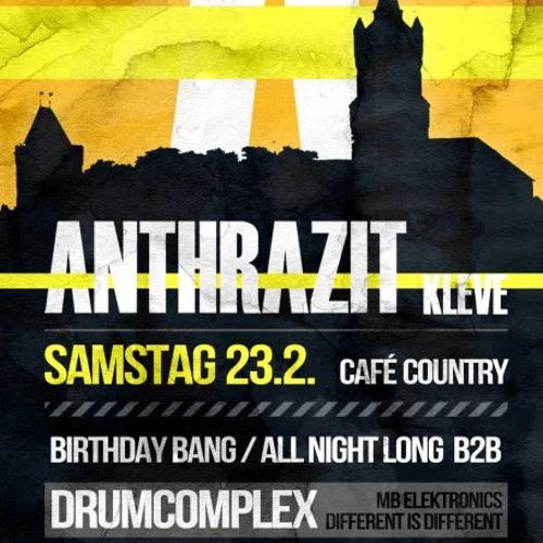 Drumcomplex & Alexander Machts @ Anthrazit B-Day Bang 24.02.2013 - Part2