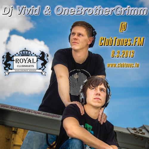 Dj Vivid & OneBrotherGrimm live @ ClubTunes.FM-8-3-2013