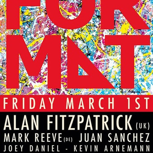 Mark Reeve @ Format Air Amsterdam 01.03.2013