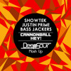 Showtek, Justin Prime, Bass Jackers - Cannonball Hey! (Deepsour Mash Up) FREE