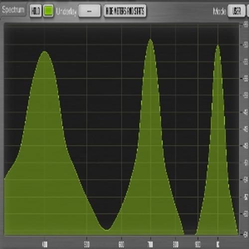 HI-PER-MITE audio bandpass filtering test