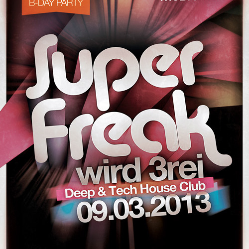 Sonic Seven live @ Superfreak! wird 3rei // SASS Music Club // 2013-03-09