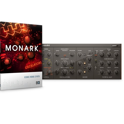 KOMPLETE > MONARK > 'Funky Punchy Boogie Synthy' Demo