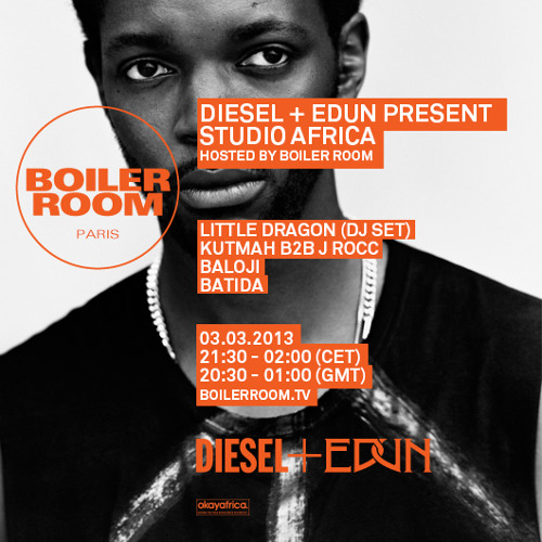 Little Dragon 30 min Boiler Room x Diesel + Edun DJ Set
