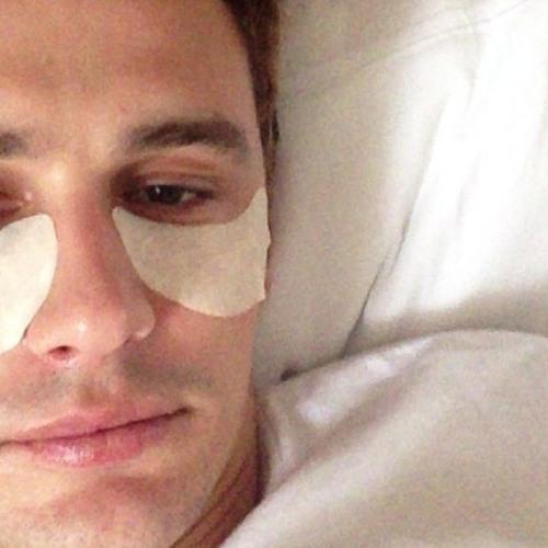 "James Franco Takes Selfies to Share the ""Strange Life"" He Lives"