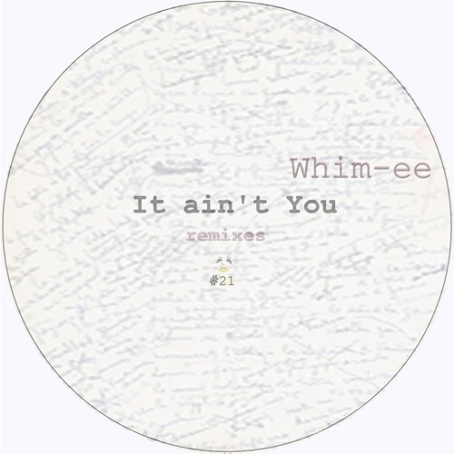 Whim-ee - It ain´t You (dk Remix) [TD021]
